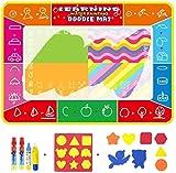hsj Wasser-Leinwand 120 * 90 Kinder Magische Magic Water Leinwand Schreiben Decke Baby-Wasser Malerei Decke Kinderspielzeug Exquisite Verarbeitung (Color : 2)