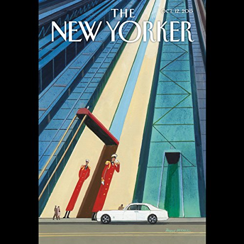 The New Yorker, October 12th 2015 (Margaret Talbot, John Colapinto, Emily Nussbaum) copertina