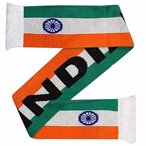 Indien Flagge Cricket und Sport Fans Acryl Schal