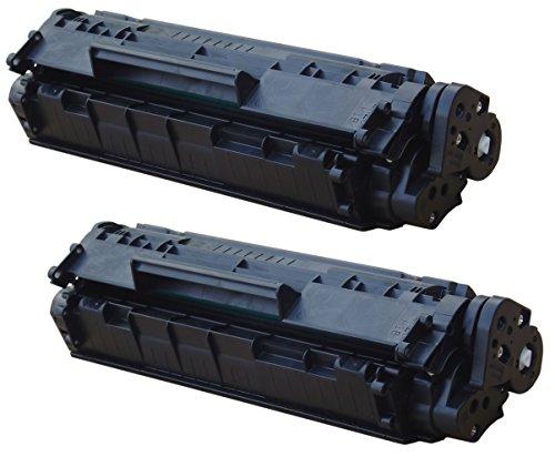 Prestige Cartridge Q2612A Kit 2 Toner compatibili per HP Laserjet 1010, 1012, 1015, 1018, 1020, 1020 Plus, 1022, 1022N, 1022NW, 3010, 3015, 3020, 3030, 3050, 3052, 3055, M1005 MFP, M1319F MFP