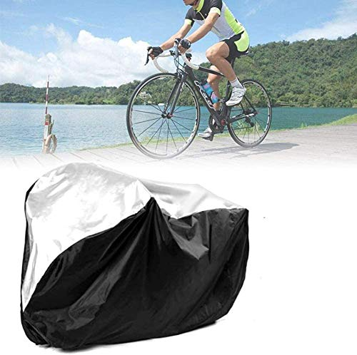 ZXYMUU Bicycle Cover, 180T Outdoor Waterproof Bicycle Covers, Dust Protection, Outdoor Bicycle Storage - 1 Bike for Mountain, Electric & Road Bikes, 190X72X110CM