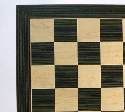 WW Chess 55500EBC 19 Ebony and Maple Veneer Vorstand