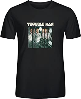Marvin Gaye Trouble Man 40th Anniversary T Shirts for Men