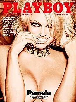 PLAYBOY Magazine  January 2016  PAMELA ANDERSON Cover
