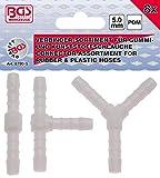 BGS 8790-5 | Schlauchverbinder-Sortimente | kraftstoffbeständig | 5 mm | 8 tlg.