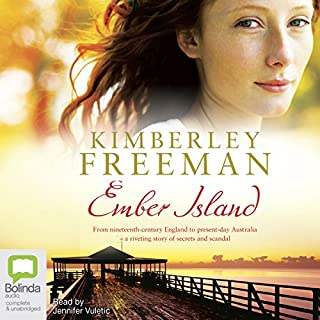 Ember Island audiobook cover art