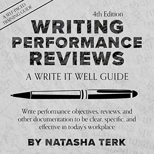 Writing Performance Reviews audiobook cover art