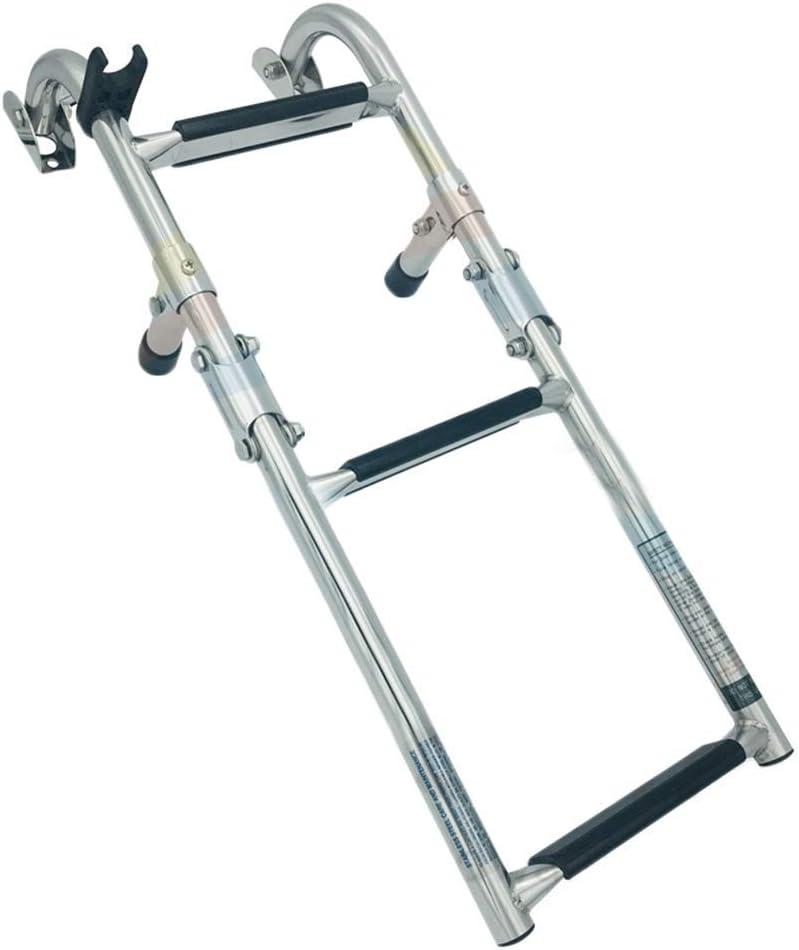 Minneapolis Mall YLKCU Boat Ladder 3 Steps supreme La Pontoon Premium Deck Stainless