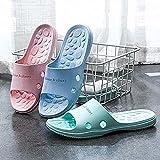 Kvfnbt Zapatillas de Verano de baño, Zapatillas de ingeniería Humana para Mujeres, un par de Sandalias y Zapatos Impermeables con sofás con Suelas Suaves