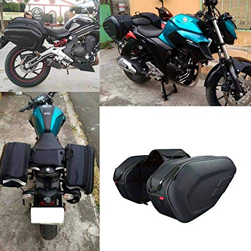 SZHSM 36L-58L Ridecle Motorcycle Saddlebag,Motorcycle Side Helmet Riding Travel Bags (Color Name : 1x tail bag 20L)
