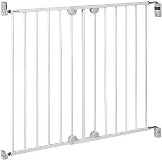Safety 1st - Extensor de fijación de pared para Barrera de seguridad de metal, color blanco