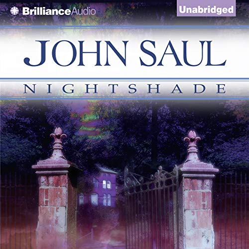 Nightshade audiobook cover art