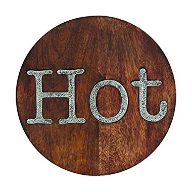 Mud Pie Circa Hot Trivet, Brown