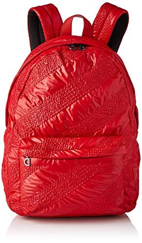 Desigual Fabric Backpack Big, Zaino Donna, Colore: Rosso, Medium