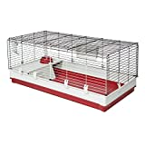 Midwest Homes for Pets Deluxe Rabbit & Guinea Pig Cage, X-Large, White...