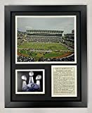 Legends Never Die Oakland Raiders Stadium- The Black Hole Collectible | Framed Photo Collage Wall Art Decor - 12'x15'