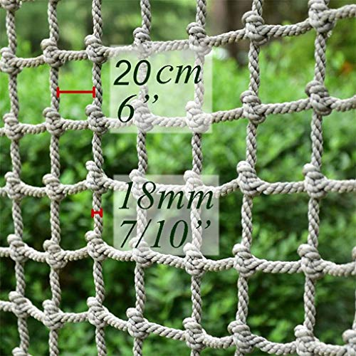 Best Deals! LYRFHW Construction Safty Netting Rope Net Child Protection,Climbing Nets Stairs Balco...