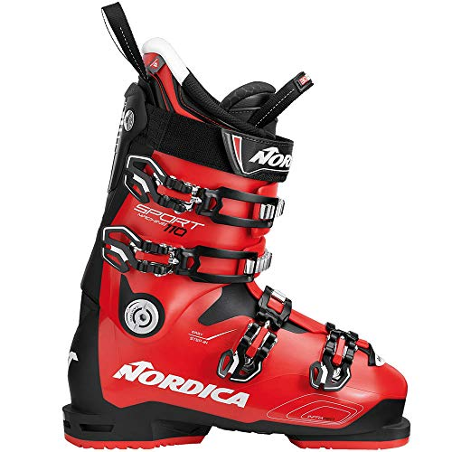 Nordica Sportmachine 110 Skistiefel 050R2200 Black/Red/White Gr. 30