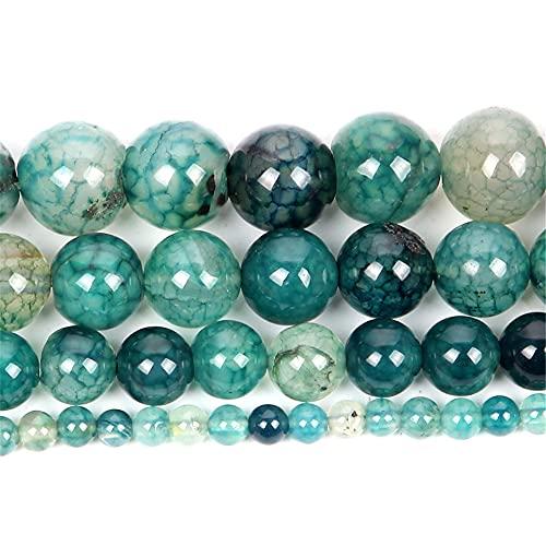 Cuentas sueltas- Cuentas de piedra natural para hacer joyería-pulsera y collares para cuarzo turquesa H8178 12mm aproximadamente 30pcs