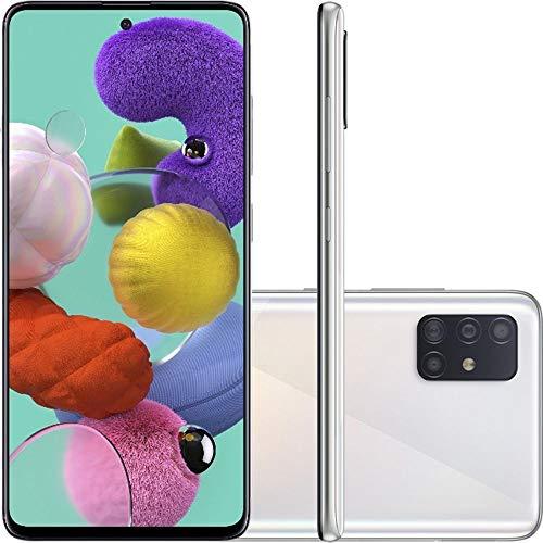 "Smartphone Samsung Galaxy A51 128Gb 6.5"" 32MP SM-A15F - Branco, SAMSUNG"