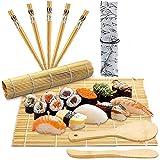 Sushi Haciendo Kit De Laminación De Bambú Para El Hogar Diy Sushi Maker De 12 Piezas Molde De Rollo De Arroz Para Niños Para Principiantes-10Pcs