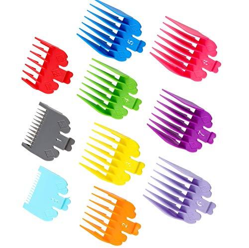 GOTONE 10 Größen Aufsteckkämme, Haarschneider für alle Standard voller Größe Wahl Haarschneidemaschine
