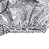 Qiuli Car Cover L/XL VUS Pleine Voiture Couvre Neige Glace Soleil Protection Contre la Pluie étanche résistant à la poussière extérieure intérieure Accessoires de Voiture (Taille : L)