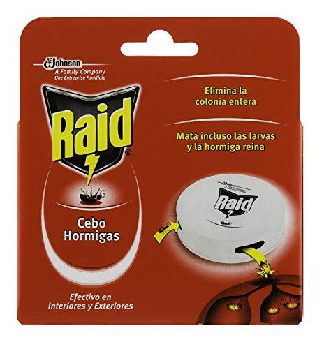 Raid ® Cebos - Trampas antihormigas. Elimina la colonia de hormigas entera. Efectivo en Interiores y Exteriores