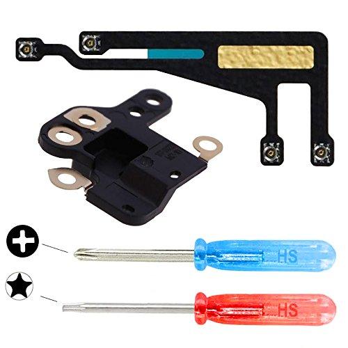 MMOBIEL WiFi WLAN Set Bluetooth Antenne und GPS Cover Bracket kompatibel mit iPhone 6 Modul Flexkabel inkl Schraubenzieher