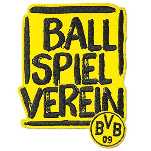Borussia Dortmund Aufnäher -Ballspielverein-, Patch, Aufbügler, Aufnäher BVB 09 - Plus Lesezeichen I Love Dortmund