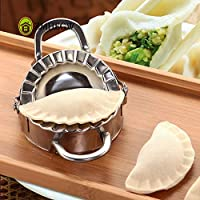 2018 New Arrive Home Kitchen Eco-Friendly Pastry Tools Stainless Steel Dumpling Maker Wraper Dough Cutter Dumpling Mould : China, Silver