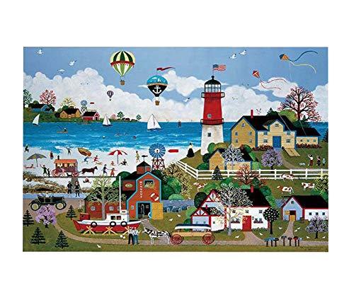Black Temptation Belle Ville Paysage Paysage Naturel Jigsaw Puzzle Adultes et Enfants Puzzles