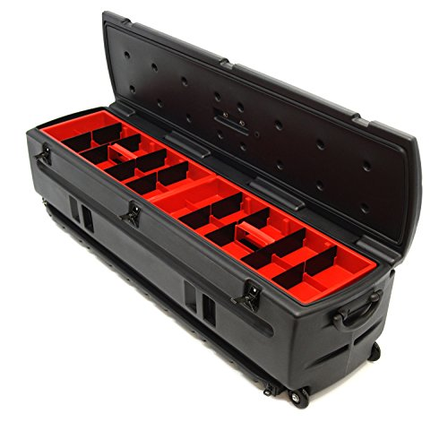 "DU-HA 70114 Tote Black 53"" x 15"" x 15"" Interior/Exterior Portable Storage/Tool Box/Gun Case for SUV's, Vans and Pickup Trucks (Includes Tote Slide Bracket)"