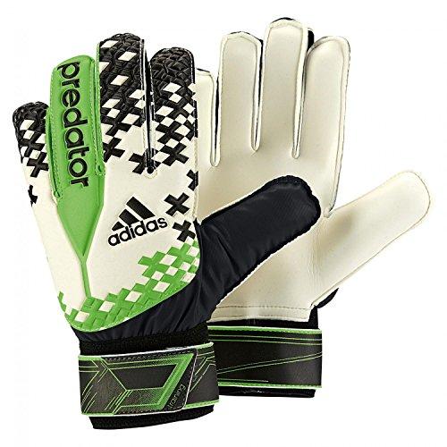 adidas Torwarthandschuhe Predator training 4.5 white/black/ray green f13
