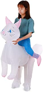 Eastdall Inflatable Costume,Cat Inflatable Costume Props Blow Up Inflatable Fancy Dress for Halloween Cosplay Party Stage ...