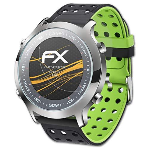atFoliX Pellicola Proteggi compatibile con Diggro DI04 Protezione Pellicola dello Schermo, Rivestimento antiriflesso HD FX Protettore Schermo (3X)