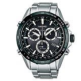 Seiko SSE011J1 - Orologio da polso da uomo, con cronografo, al quarzo, in acciaio INOX