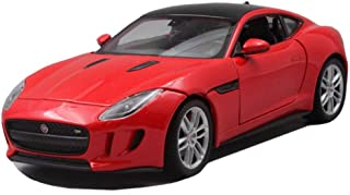 TOY Juguetes educativos, juguetes para niños, juguetes para niñas, juguetes para automóviles, modelos de automóviles, modelo de automóvil Jaguar 1:24 Modelo de automóvil de fundición a presión analóg