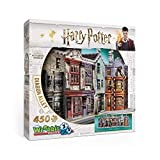 WREBBIT 3D Diagon Alley 3D Jigsaw Puzzle (450 Pieces) (W3D-1010)