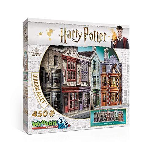 Wrebbit Puzzle Harry Potter - Diagon Alley 3D Puzzle 450 Peças