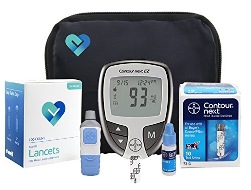 Why Should You Buy OWell Contour Complete Diabetes Blood Glucose Testing Kit, METER, 10 Test Strips,...