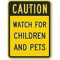 自閉症の子供と遊ぶ メタルポスタレトロなポスタ安全標識壁パネル ティンサイン注意看板壁掛けプレート警告サイン絵図ショップ食料品ショッピングモールパーキングバークラブカフェレストラントイレ公共の場ギフト