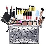 HoJoor Kit de maquillaje multiusos Paleta de Maquillaje Set Paleta de Sombras de Ojos Juego de Maquillaje Kit de Maquillaje para Mujeres y Niñas Caja de Regalo Cosméticos #082