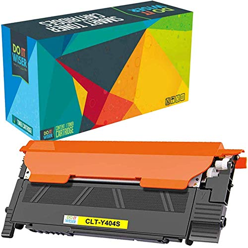 Do it Wiser Compatible Toner Cartridge Replacement for CLT-Y404S Samsung Xpress C480FW SL-C430W SL-C480W SL-C480FN SL-C430 SL-C480 (Yellow) Montana