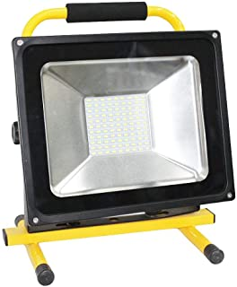 Rechargeable flood light 50w ip66