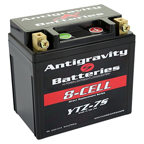 Antigravity Batteries AG-YTZ7-8 Hi-Power Lithium-Ion Motorcycle Battery