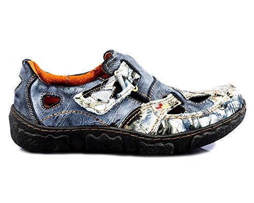 TMA 7008N Damen Sandaletten schwarz - EUR 39