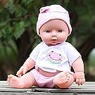 VWsiouev Reborn Baby Dolls Reborn Emulated Doll, Lifelike Real Soft Baby Dolls Newborn Toy Realistic Soft Newborn Dolls, Best Birthday For Kids Children