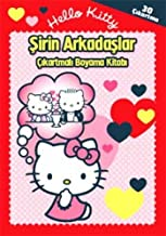 Hello Kitty Sirin Arkadaslar Cikartmali Boyama Kitabi