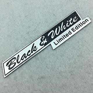 Sport Nero N//R Scritto a Mano SV Autobiografia Ultimate Edition Sport Emblem Bar Badge per Range Rover Executive Limited Adesivo con Logo per Baule Auto